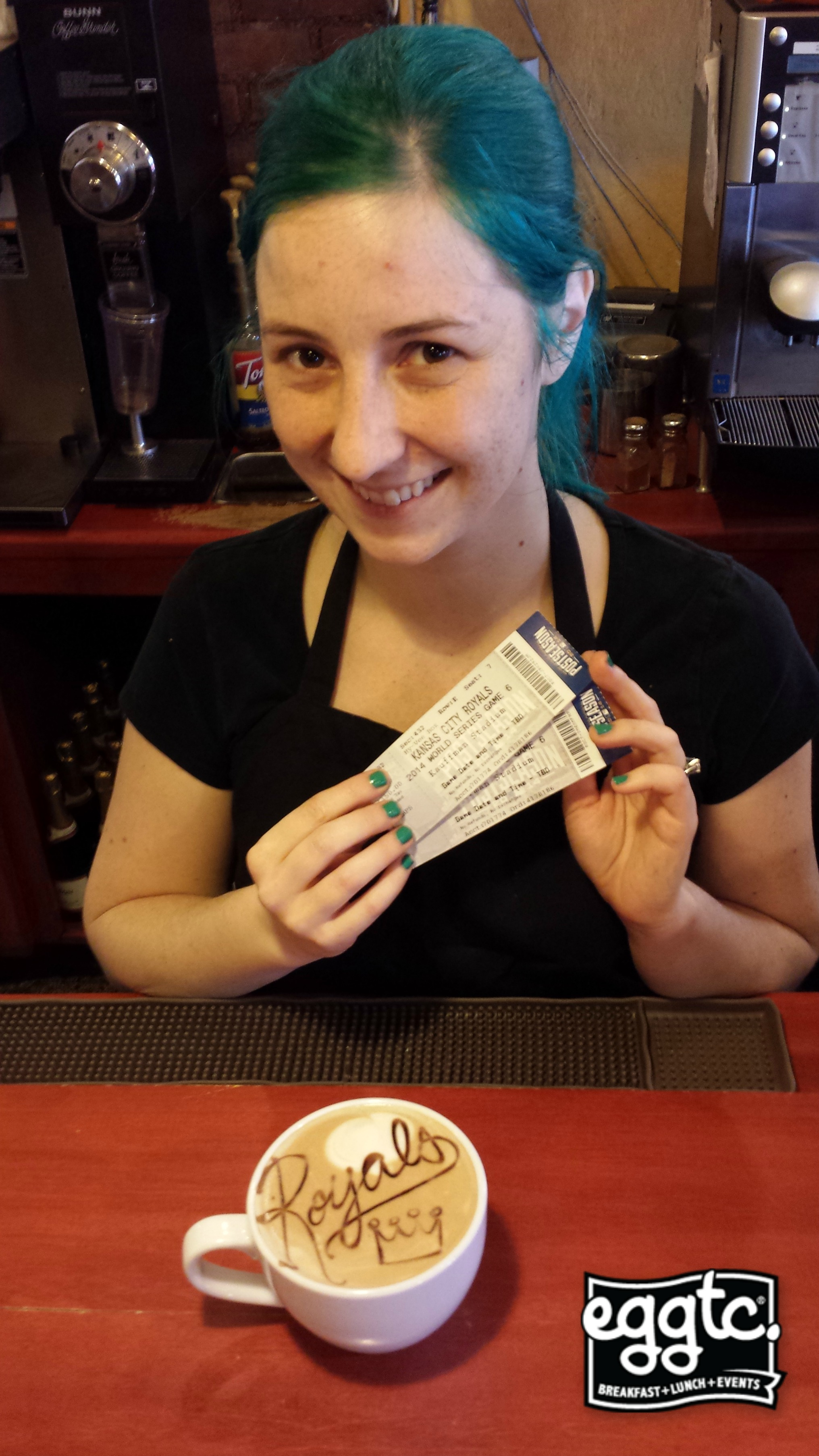 Josh Willingham Surprises eggtc. Barista with World Series Tickets!