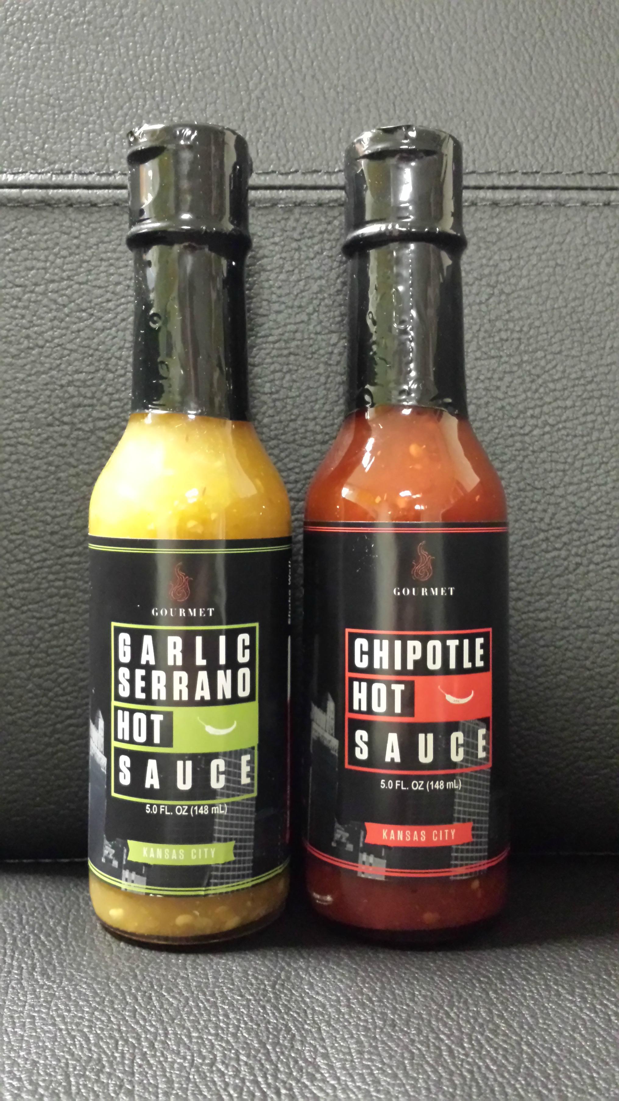 New eggtc. Gourmet Hot Sauces!