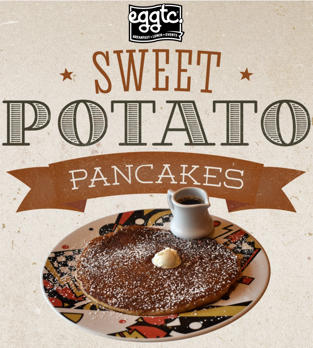 Sweet Potato Pancakes – Limited Time Only!