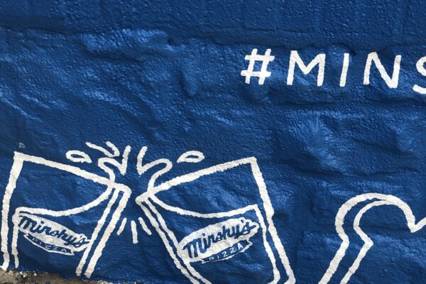 Minsky's Cheers - Mural detail