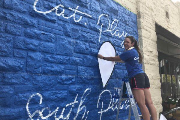 Mural Heart Ruthie
