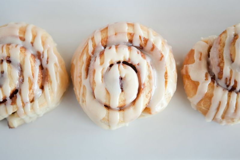 Dolce Baking Company's Devine Cinnamon Rolls at eggtc.