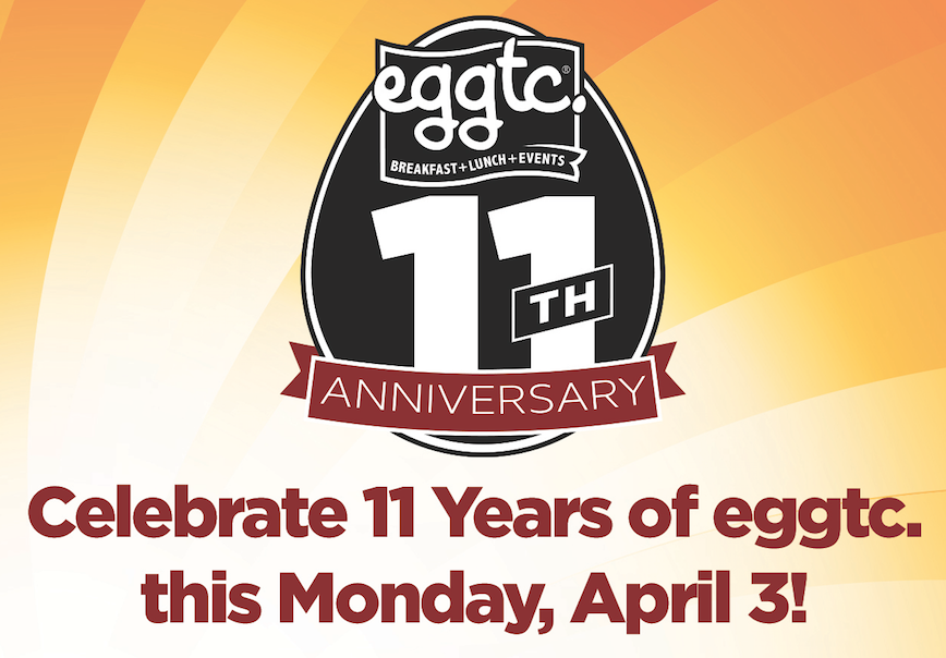 Have a Muffin on us Monday, April 3!