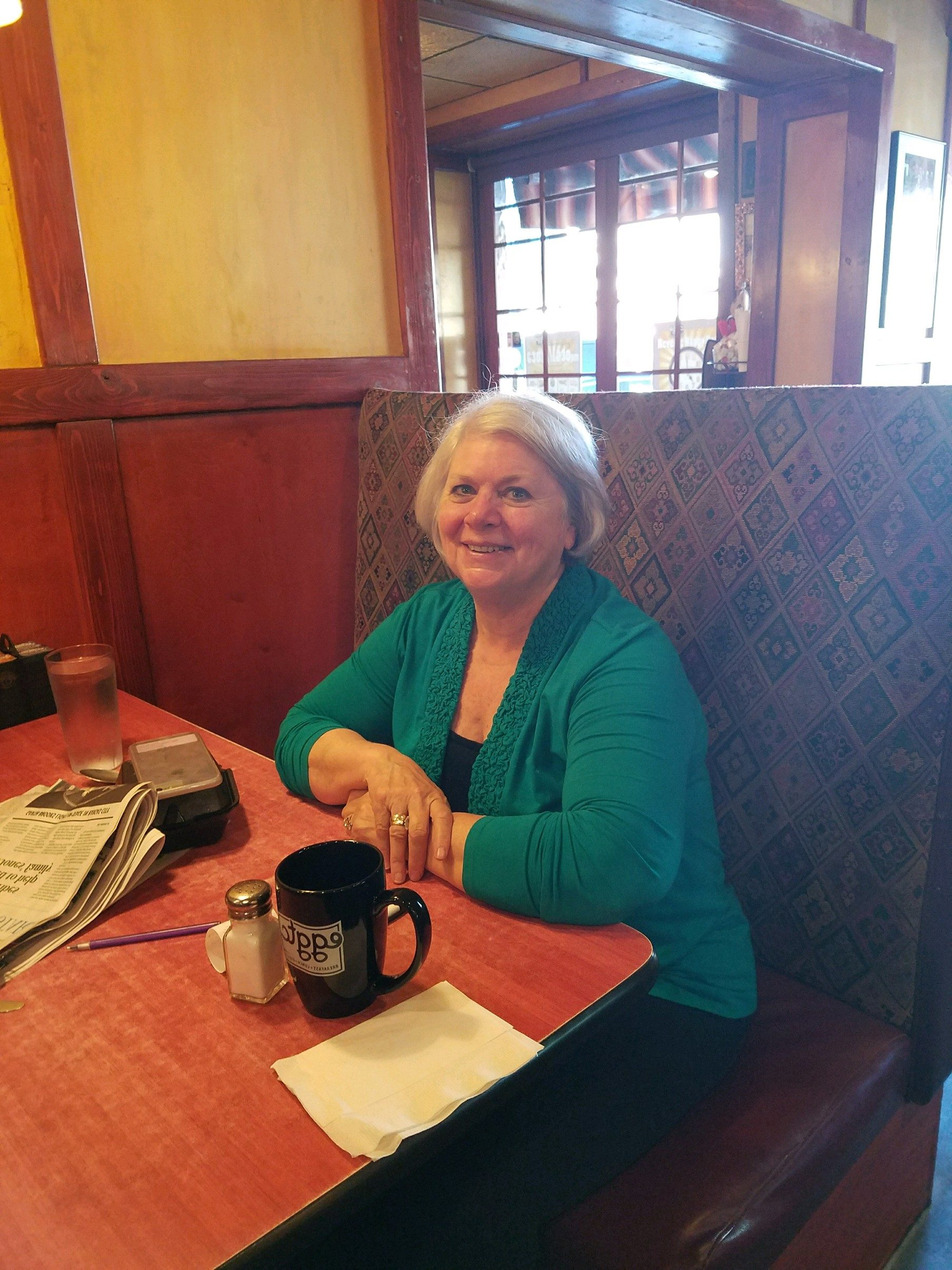 Great Egg on Main – Carolyn Patterson