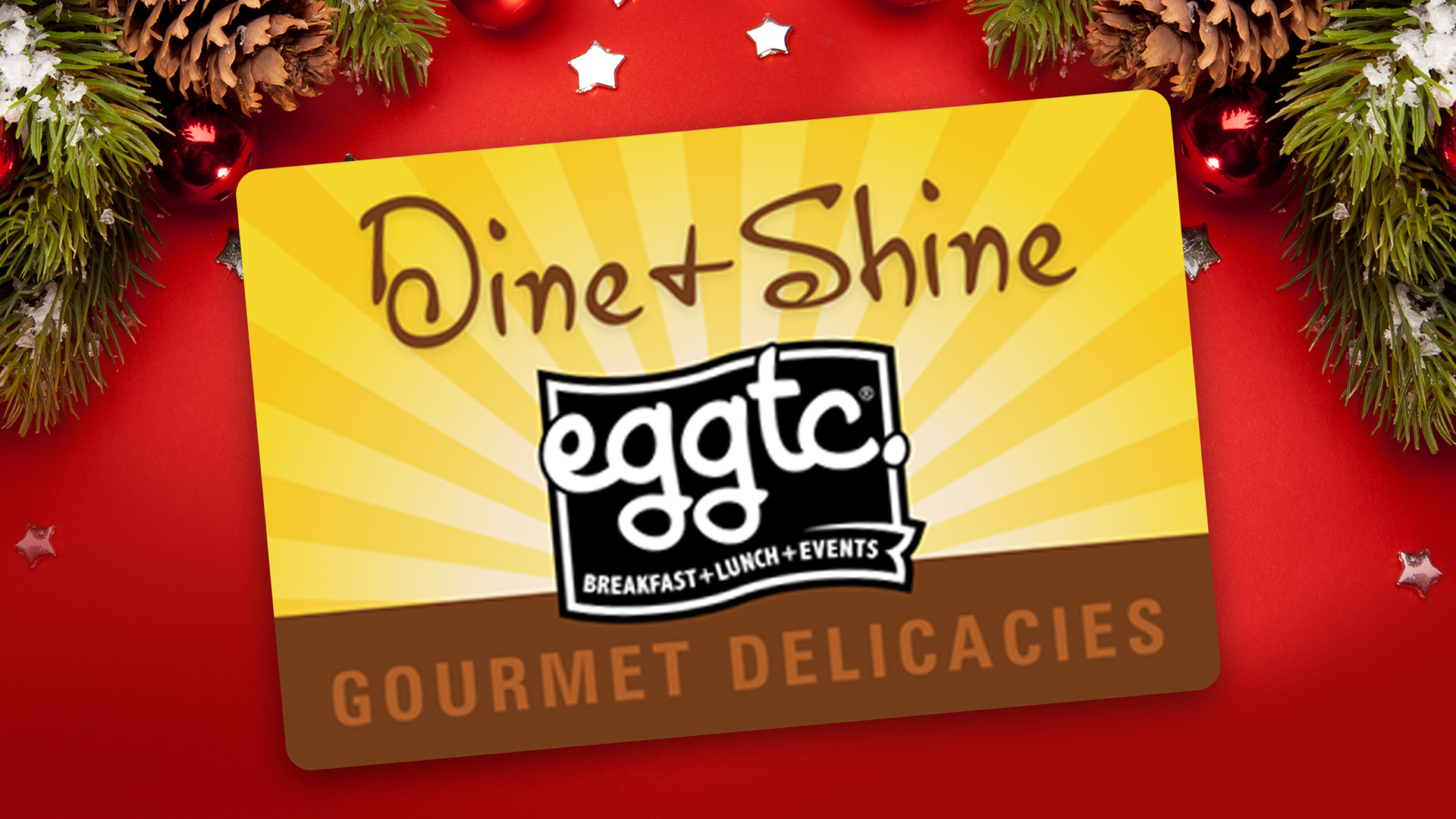 Give Holiday Cheer With Eggtc. E-Gift Cards