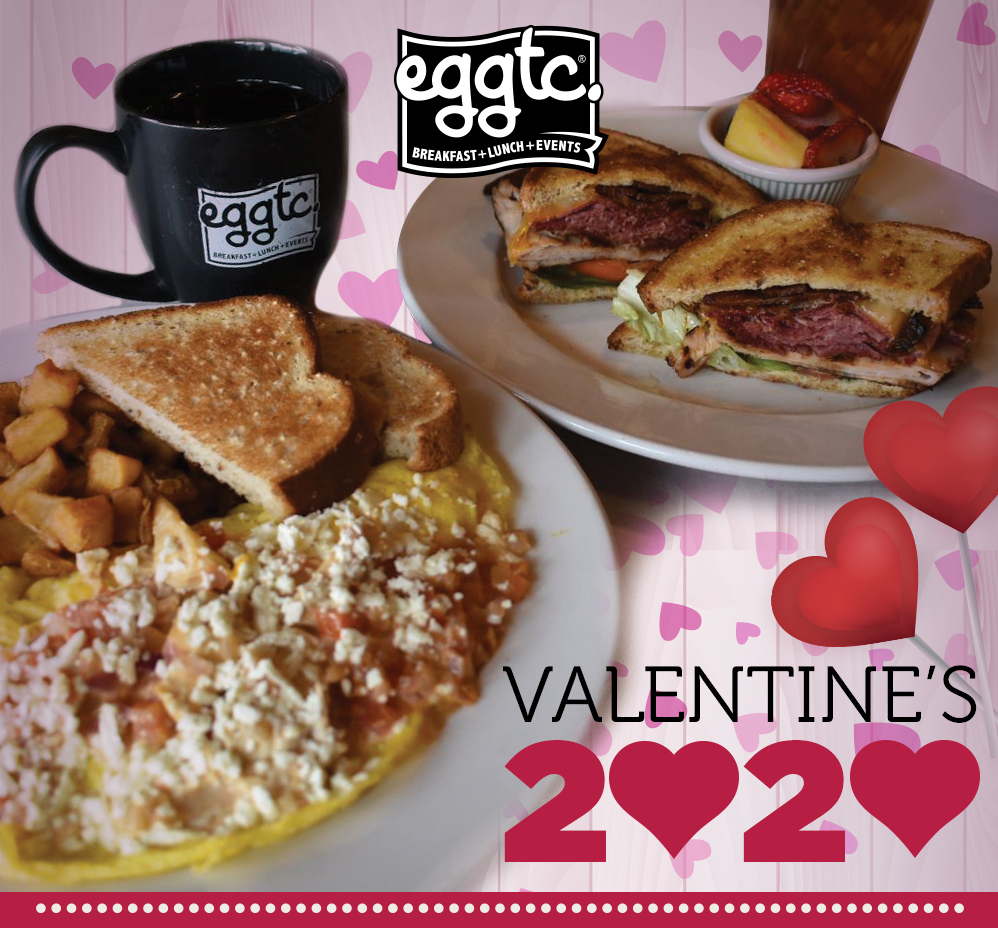 Valentine's Day Sweetheart Deal – 2 Eat for $20.20!