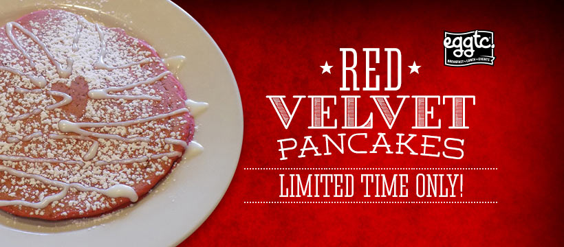 Enjoy Red Velvet Pancakes – for National Pancake Day!