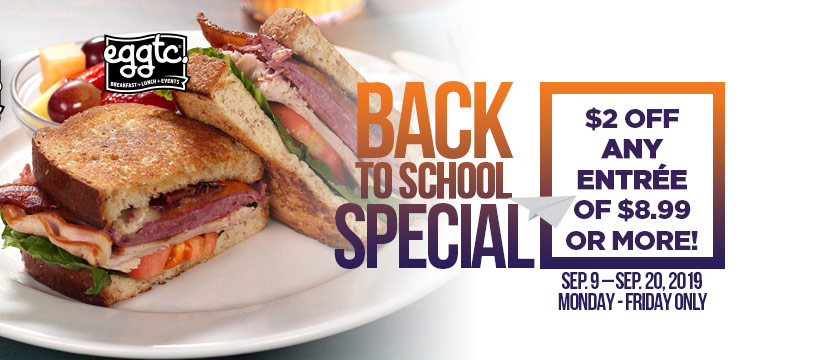 Back to School Savings at eggtc.!