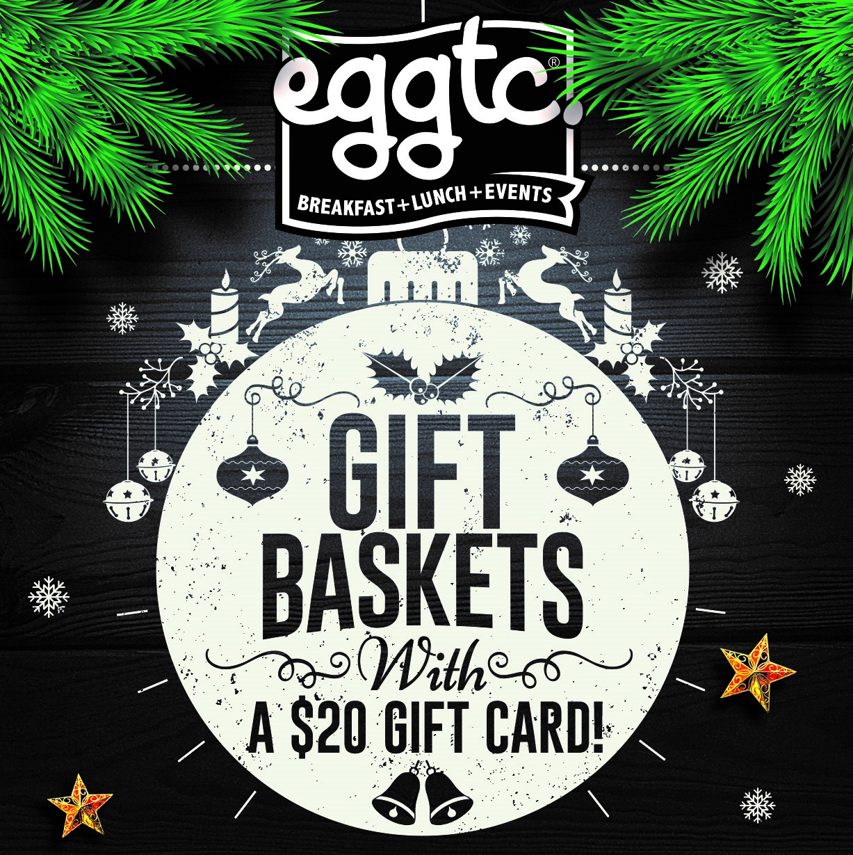 Gift the gift of eggcellent taste this holiday season – with an eggtc. gift basket!