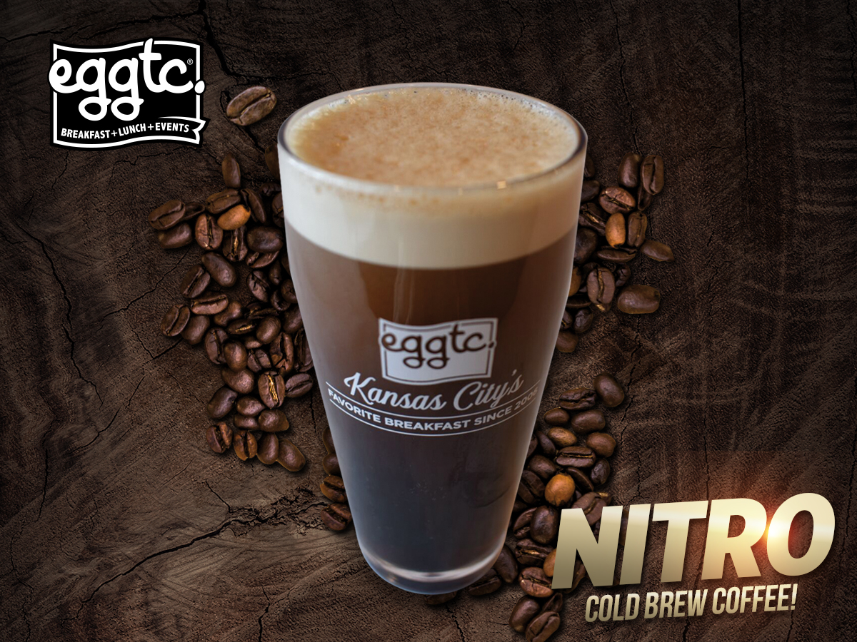 Nitro Cold Brew Coffee – Now on-tap at eggtc. South Plaza!